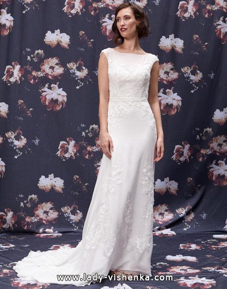 Direkte langes brautkleid Kleid 2016 -