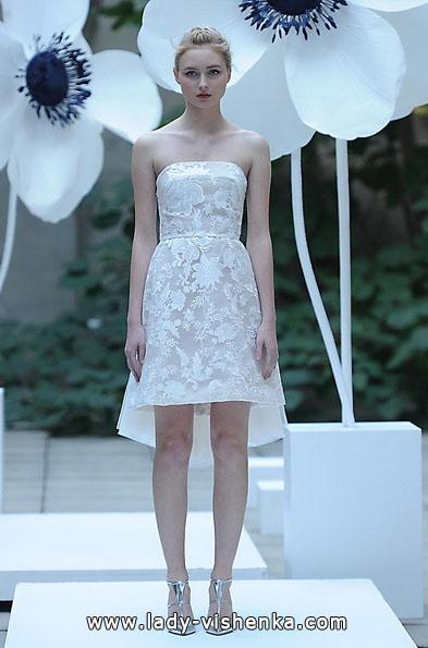 kurze Spitze Hochzeitskleid 2016 - Lela Rose