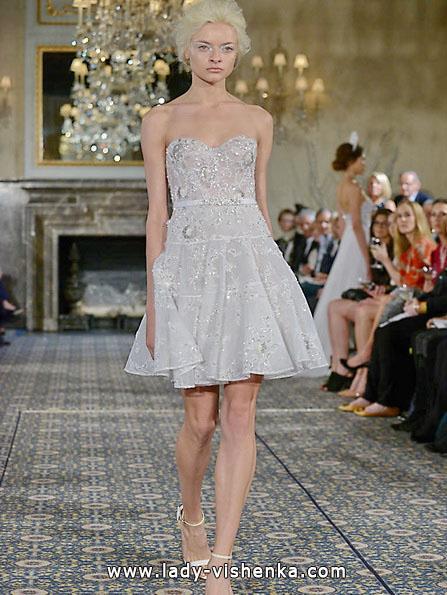 kurze Spitze Hochzeitskleid 2016 - Mira Zwillinger