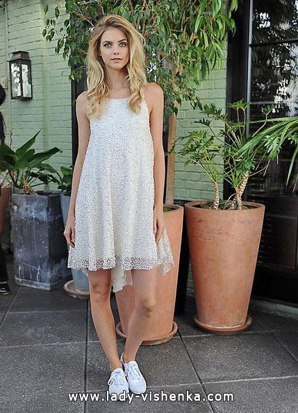 kurze Spitze Hochzeitskleid 2016 - Sarah Seven