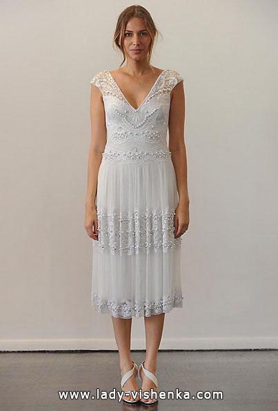 kurze Spitze Hochzeitskleid 2016 - Temperley