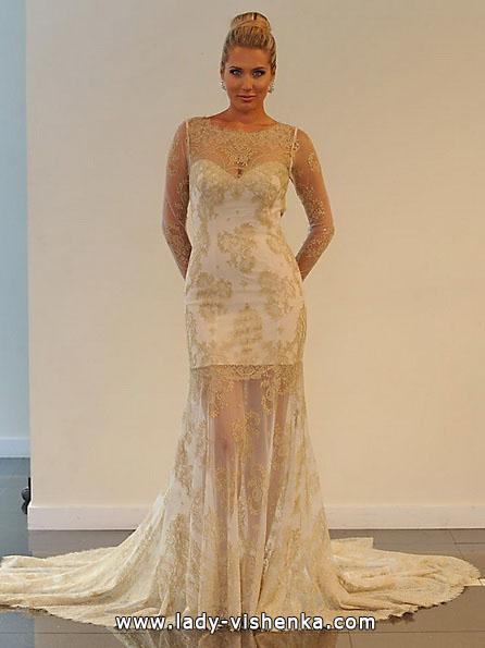 kurze Spitze Hochzeitskleid 2016 - Yumi Katsura