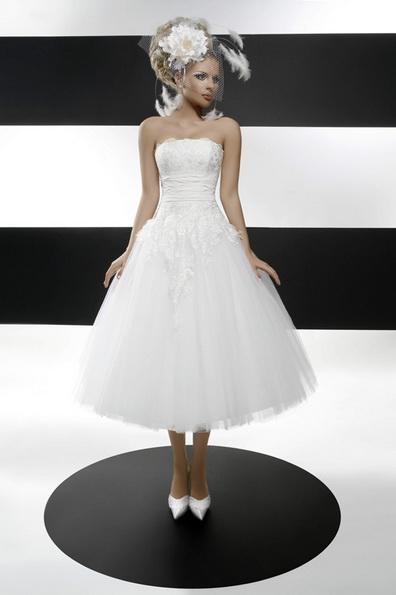 Quinceanera Hochzeitskleid 3/4 Länge 2016 - Tatiana Kaplun
