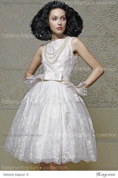 Kurze Quinceanera brautkleid mit Schleife 2016 - Tatiana Kaplun
