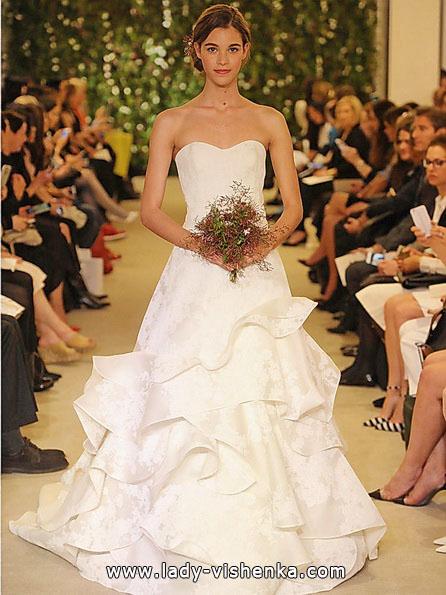 Einfache Hochzeitskleider Foto - Carolina Herrera