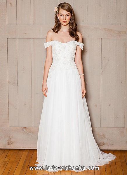 Einfache Hochzeitskleid 2016 - David 's Bridal