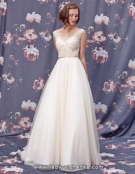 Einfache Hochzeitskleid 2016 - Ivy & Aster
