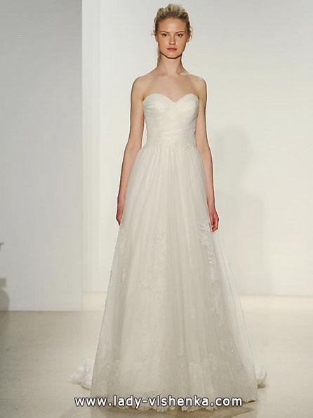 Einfache Hochzeitskleid 2016 - Kelly Faetanini