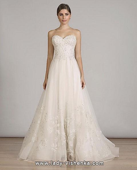 Einfache Hochzeitskleid 2016 - Liancarlo