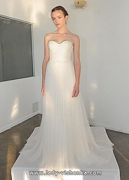 Einfache Hochzeitskleider Foto - Marchesa