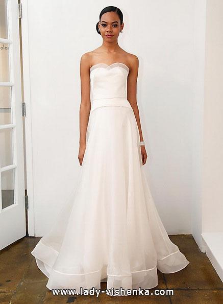 Einfache Hochzeitskleid 2016 - Pamella Roland