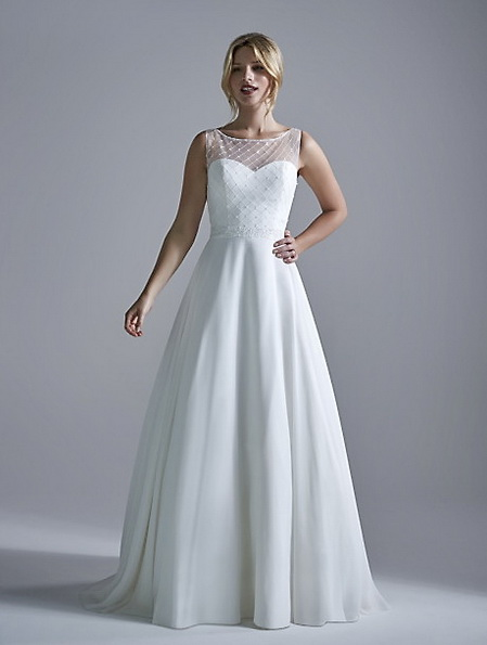 Einfache Hochzeitskleid 2016 - OPULENCE