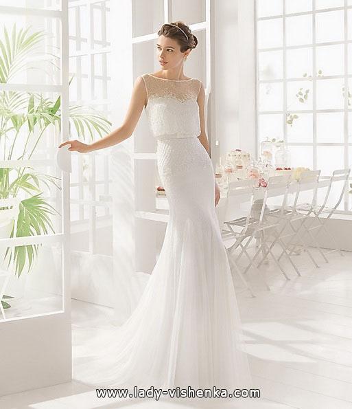Einfache Hochzeitskleid 2016 - Aire Barcelona