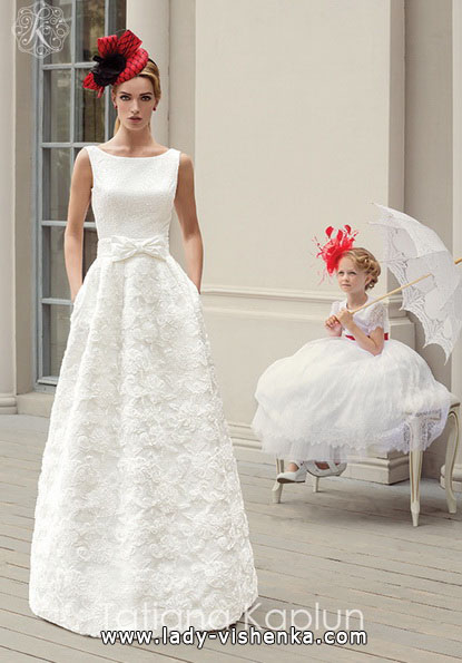 Einfache Hochzeitskleid 2016 - Tatiana Kaplun