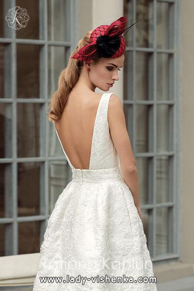 ein Einfaches weißes brautkleid - Tatiana Kaplun