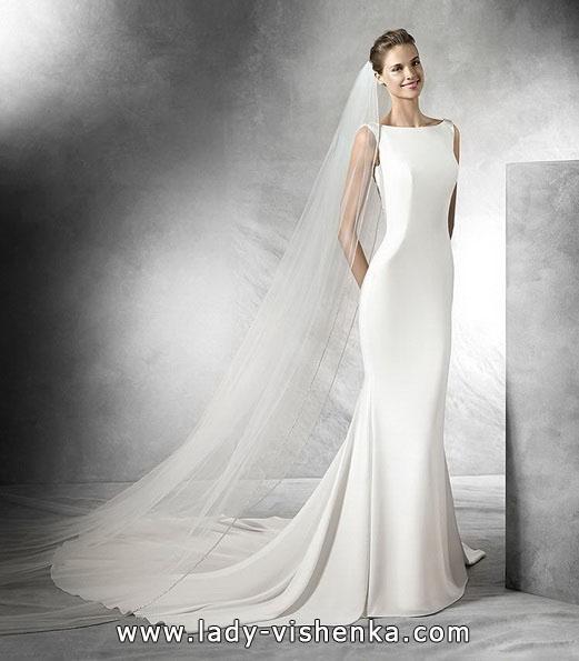 Einfache Hochzeitskleid 2016 - Pronovias
