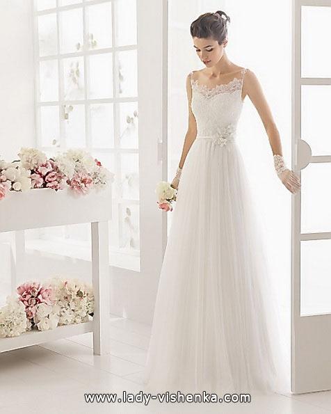 Einfache Hochzeitskleid Aire Barcelona