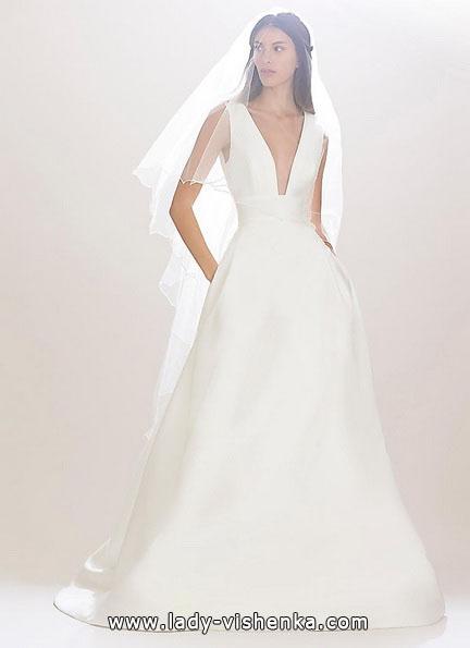 Einfache Hochzeitskleid 2016 - Carolina Herrera
