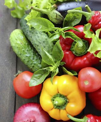 Wie viele Kalorien in Gemüse