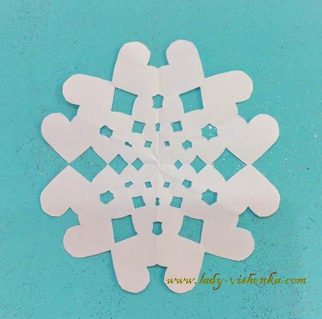 Schneeflocken-Kinder
