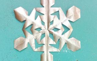 Schneeflocken mit Kindern — 31 Schema