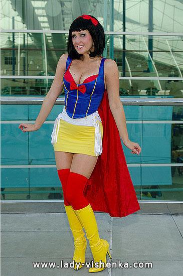 Snow White Superheld Halloween
