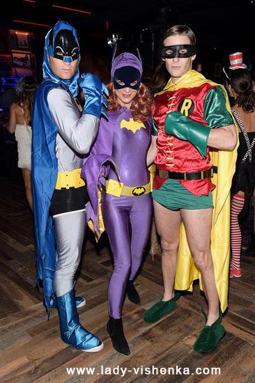 das Mädchen Batman Halloween