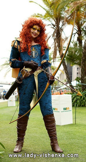 Super-Merida auf Halloween