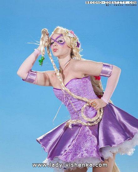 Super-Rapunzel Halloween