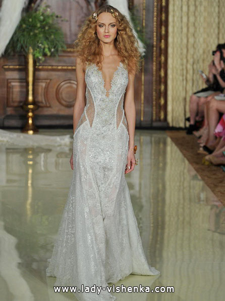 Transparentes Hochzeitskleid - Galia Lahav
