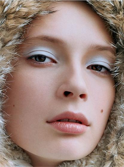 Gesichtspflege im Winter