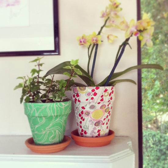 dekorieren Blumentopf