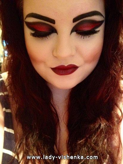 Vampire an Halloween - Image und make-up