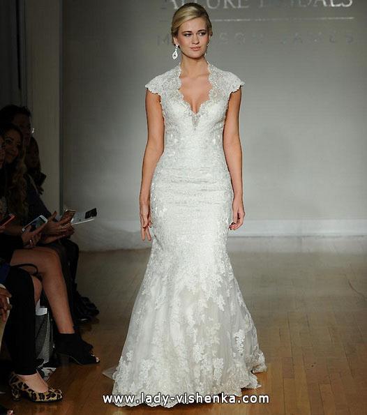 Brautkleider mit geschlossenen Schultern 2016 - Allure