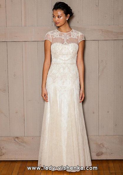 Brautkleider mit geschlossenen Schultern 2016 Foto - David 's Bridal