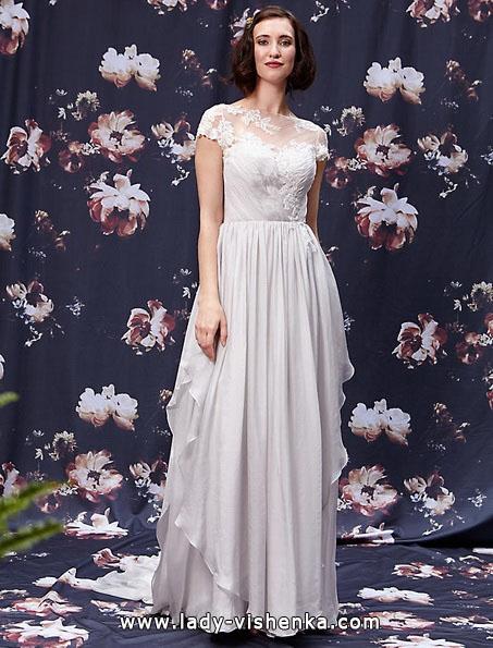 Brautkleider mit geschlossenen Schultern 2016 - Ivy & Aster