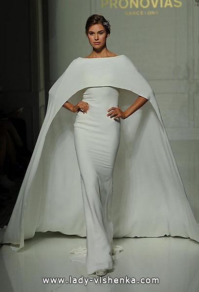 Brautkleider mit geschlossenen Schultern 2016 - Pronovias