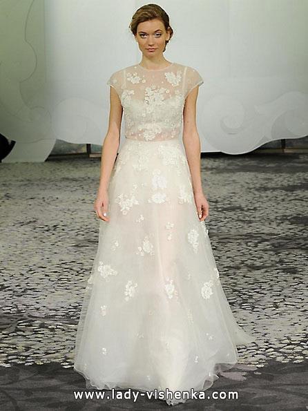 Brautkleider mit geschlossenen Schultern 2016 - Rivini