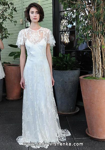 Brautkleider mit geschlossenen Schultern 2016 - Sarah Seven