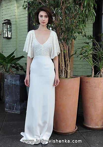Brautkleider mit geschlossenen Schultern Fotos Sarah Seven