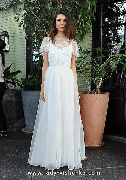 Hochzeits-Kleid Retro mit geschlossenen Schultern 2016 - Sarah Seven