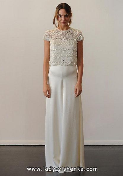 Brautkleider mit geschlossenen Schultern 2016 - Temperley