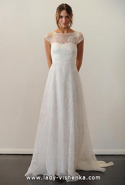 Brautkleider mit geschlossenen Schultern Fotos Temperley
