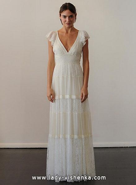 Brautkleider mit geschlossenen Schultern - Temperley