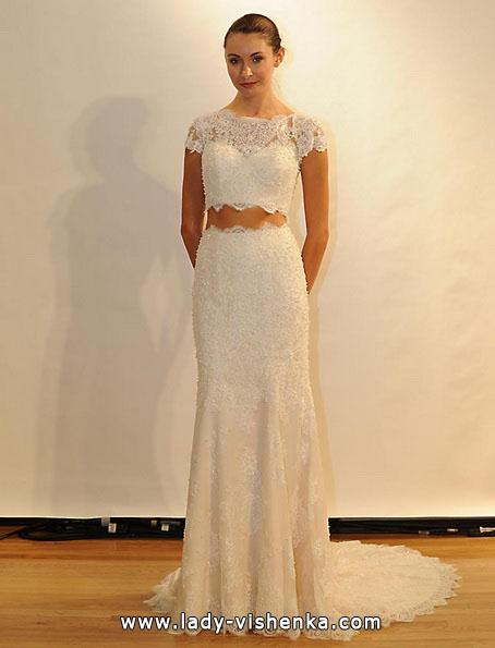 Brautkleider mit geschlossenen Schultern 2016 - Val Stefani