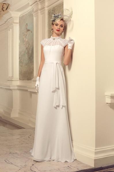 Brautkleider mit geschlossenen Schultern 2016 - Tatiana Kaplun