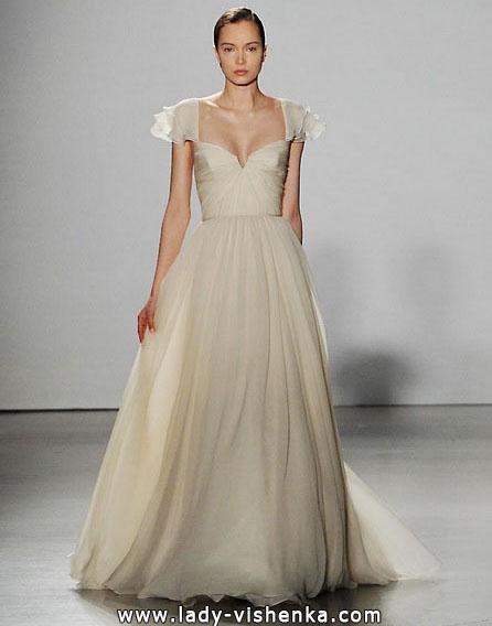 Brautkleider mit geschlossenen Schultern 2016 - Amsale