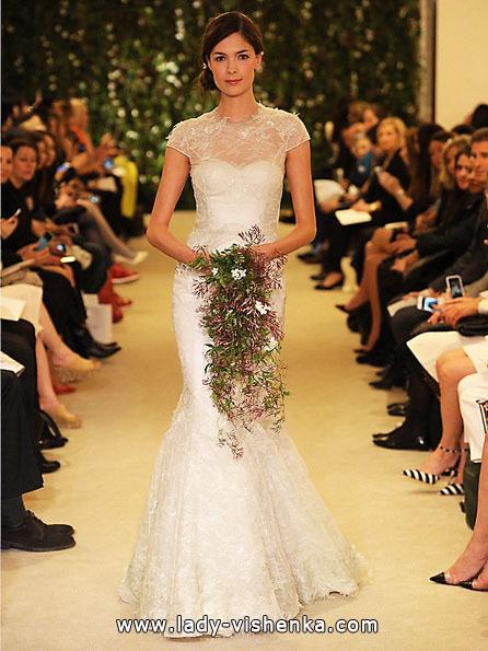 Brautkleider mit geschlossenen Schultern 2016 - Carolina Herrera