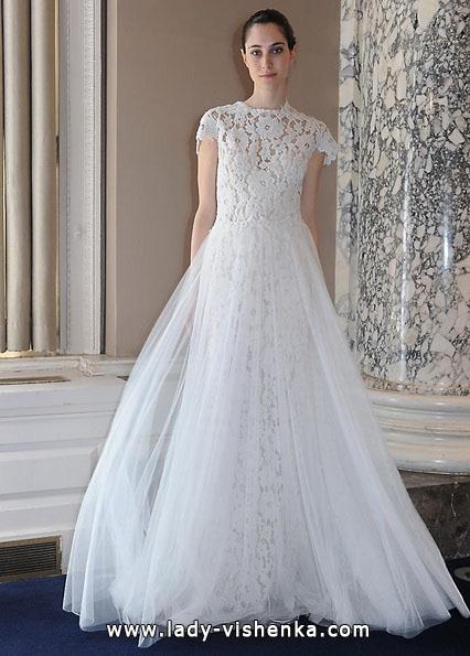 Brautkleider mit geschlossenen Schultern 2016 - Christos Costarellos