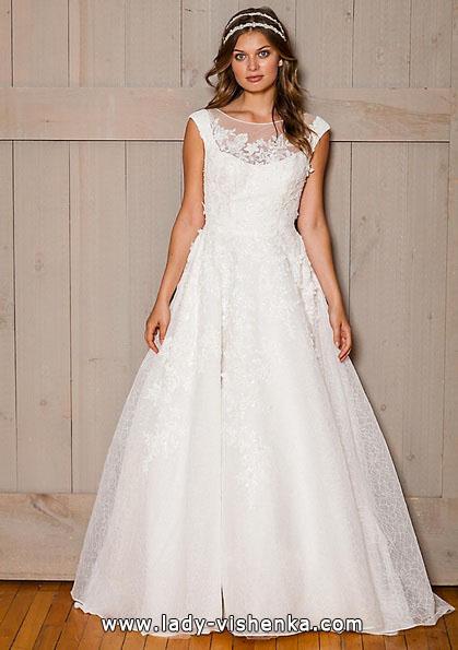 Brautkleider mit geschlossenen Schultern 2016 - David 's Bridal